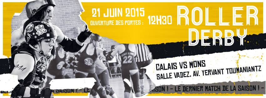 21/06/15 Calais VS Mons - Double Header